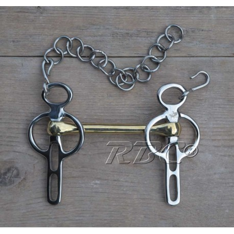 RBC® Mini Liverpoolstang, Gold Brass